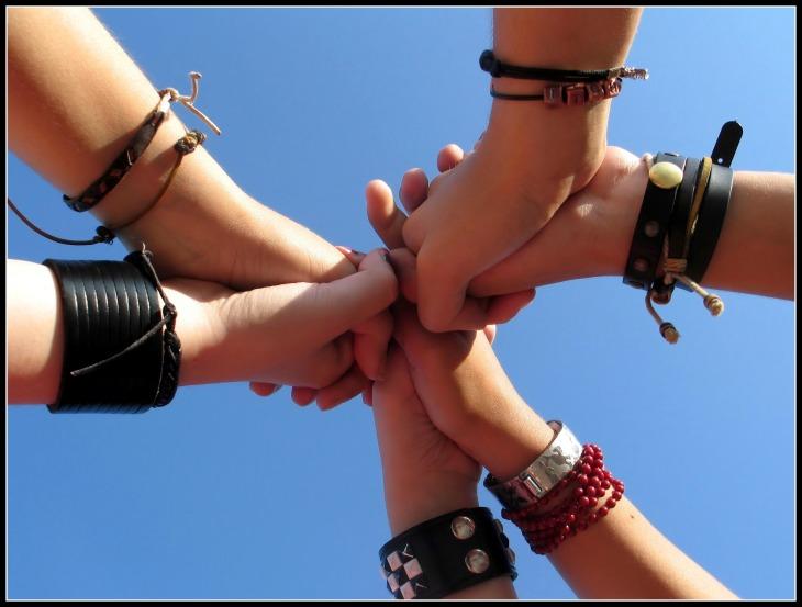 Hands Together, FRAMED
