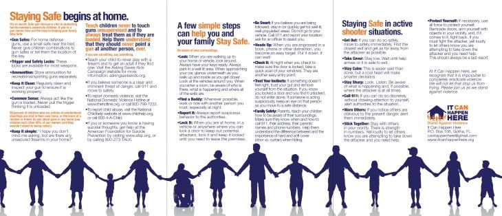 Stay Safe Brochure 2